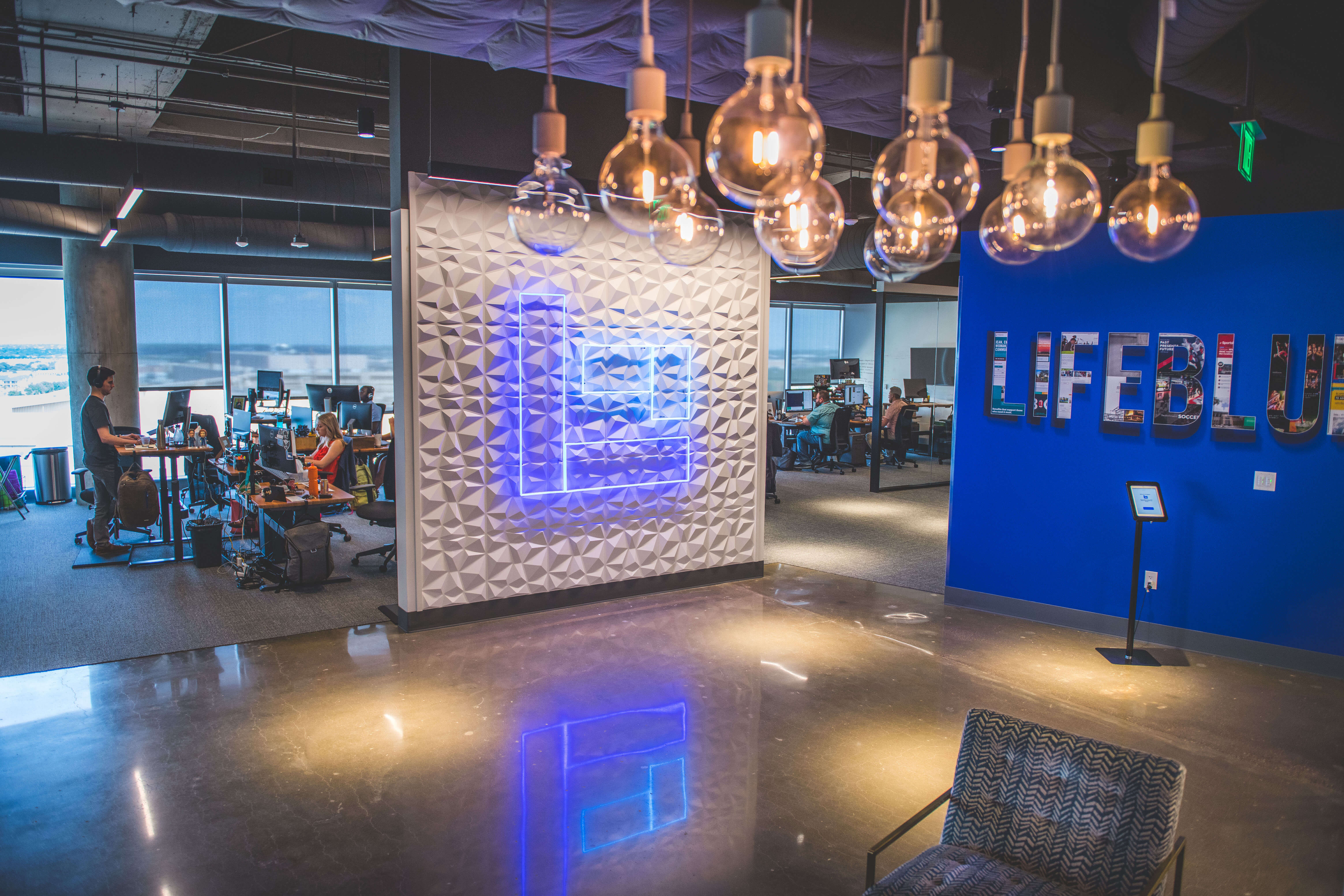 Image showing the lobby of Lifeblue's office